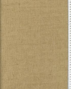 Coton/jute fabric - 280 cm width - Natural - Tissushop