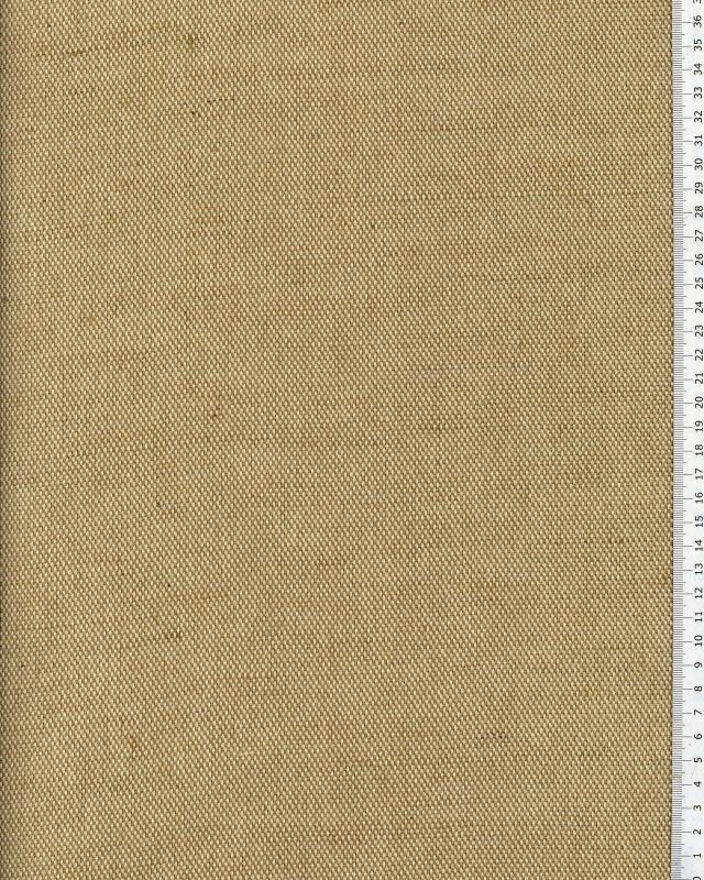 Métis coton/jute 1/2 natté - 280 cm - Naturel - Tissushop