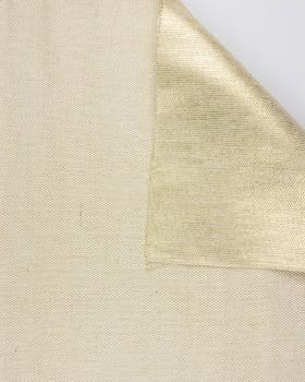 Cotton / Jute Metallic Gold - Tissushop