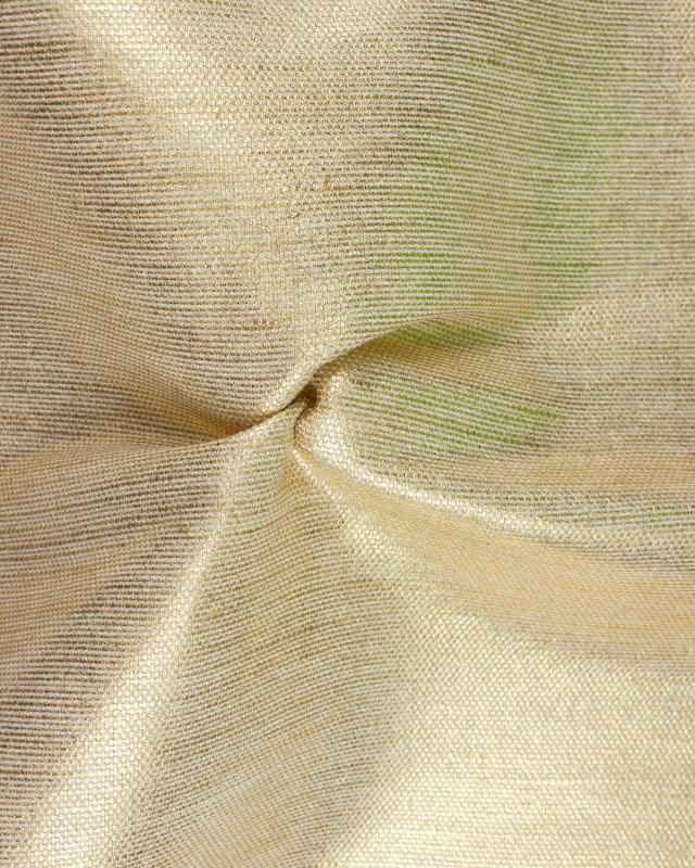 Métis coton/jute - 140 cm - Métallisé - Or - Tissushop