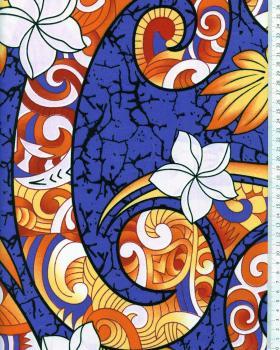Polynesian Fabric AURERE Purple - Tissushop