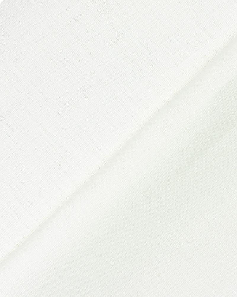 Toile de lin Telia en 300 cm Blanc - Tissushop