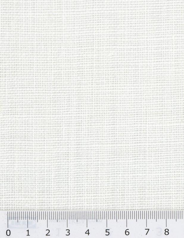Linen fabric Telia in 300 cm White - Tissushop