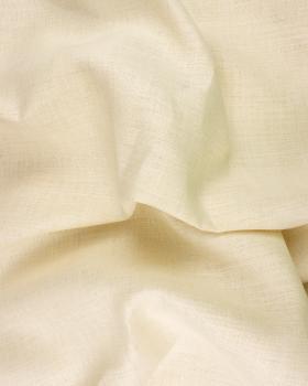 Linen fabric Telia in 300 cm Ivory - Tissushop