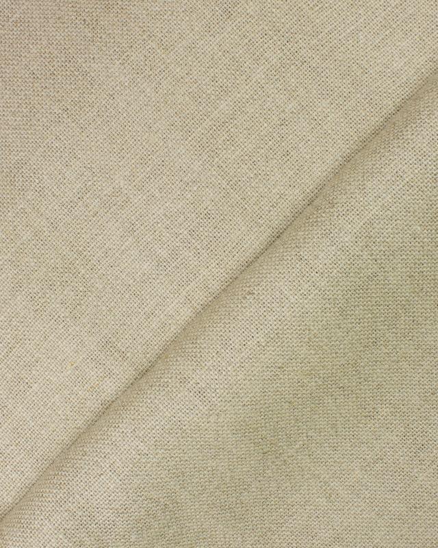Linen fabric Valentina in 300 cm Natural - Tissushop