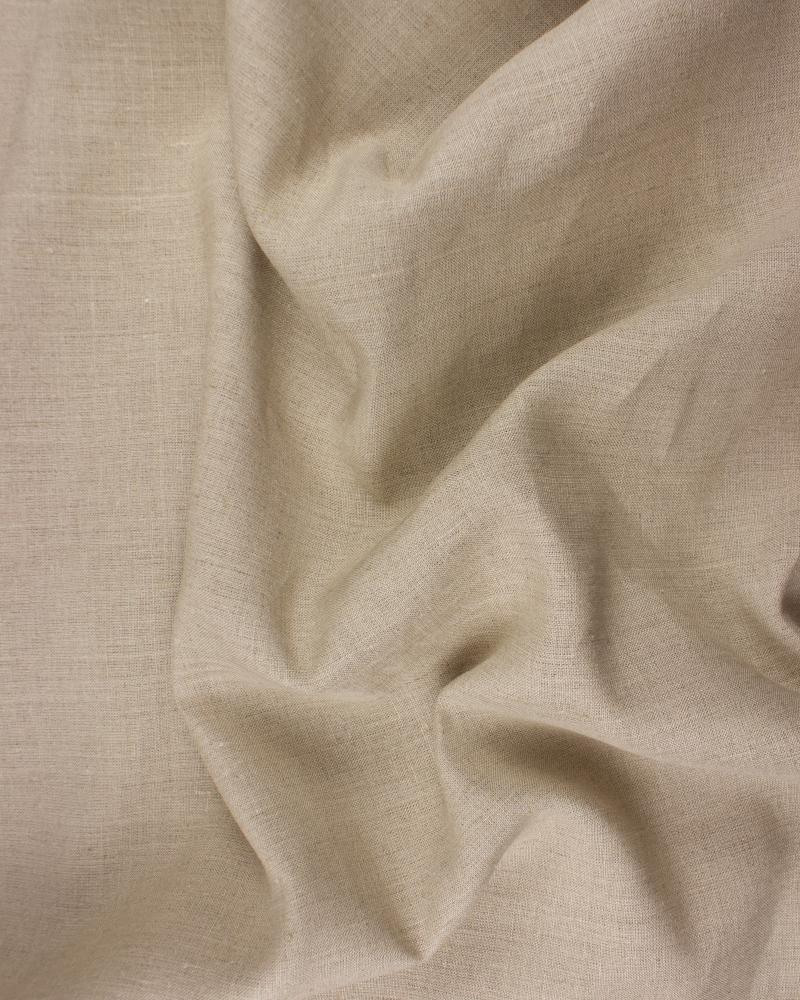 Melia flax fabric in 150 cm Natural - Tissushop