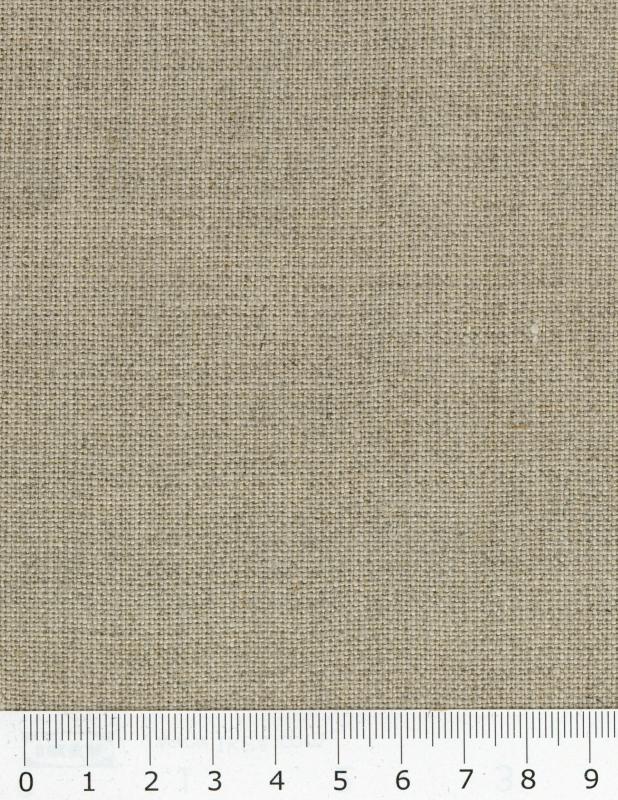 Melia flax fabric in 150 cm Natural - Tissushop