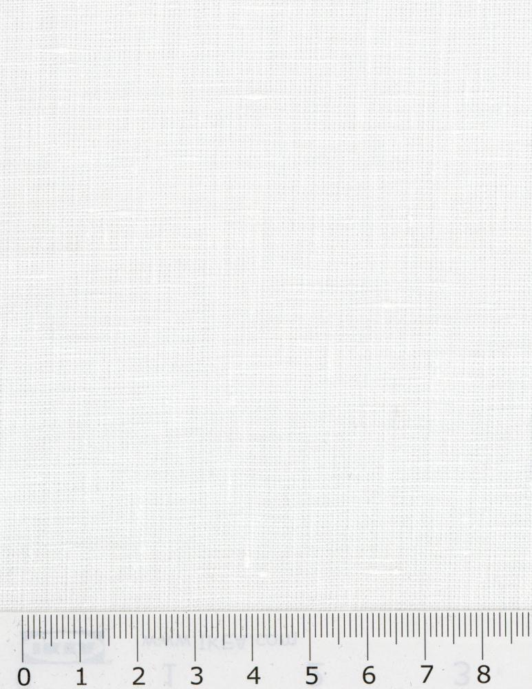 Toile de lin Paloma en 300 cm Blanc - Tissushop