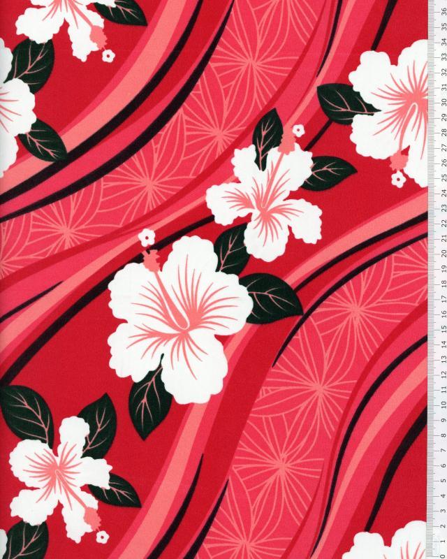 Polynesian Fabric VAIORA Pink - Tissushop