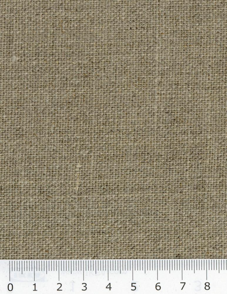 Toile de lin Sanforisée en 150 cm Naturel - Tissushop