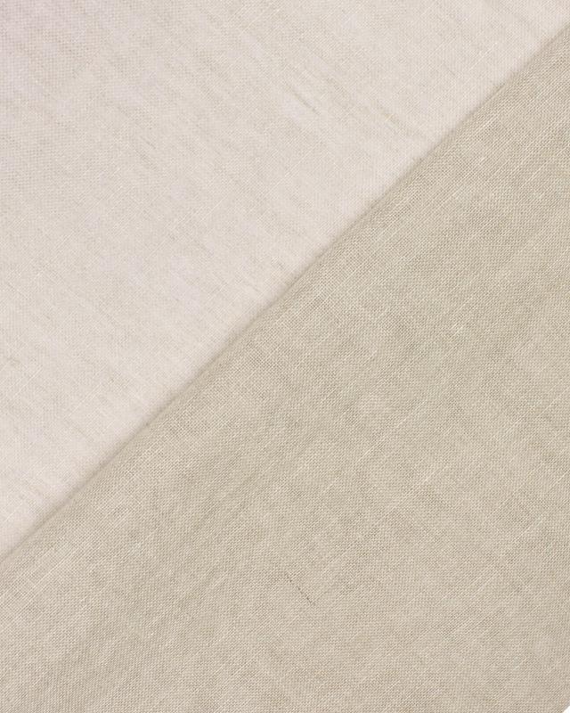 Voile de lin en 160 cm Chiné - Tissushop