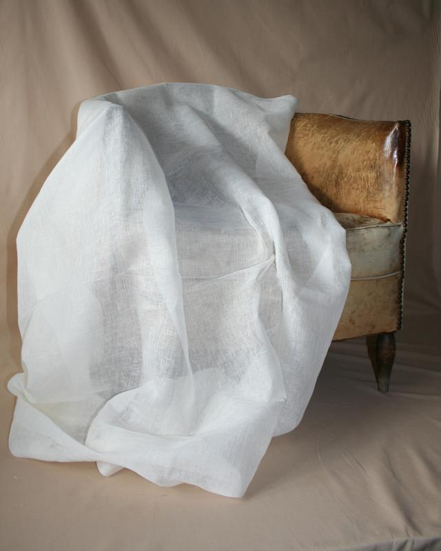 Flax Gauze in 160 cm Off White - Tissushop