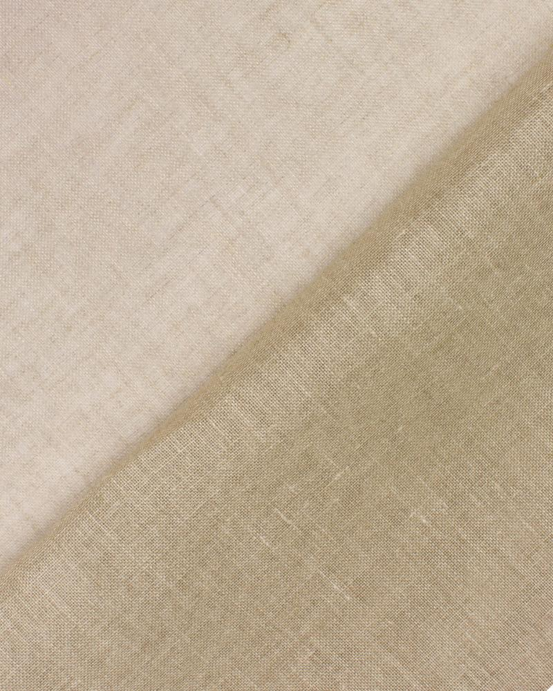 Flax Gauze in 160 cm Natural - Tissushop
