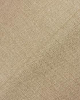 Toile de lin calandré - Grain moyen - 220 cm - Naturel - Tissushop