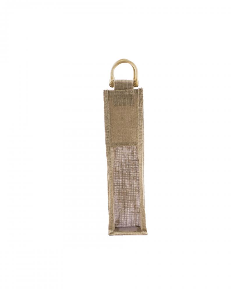 Jute Bag - Capacity 1 bottle Natural - Tissushop
