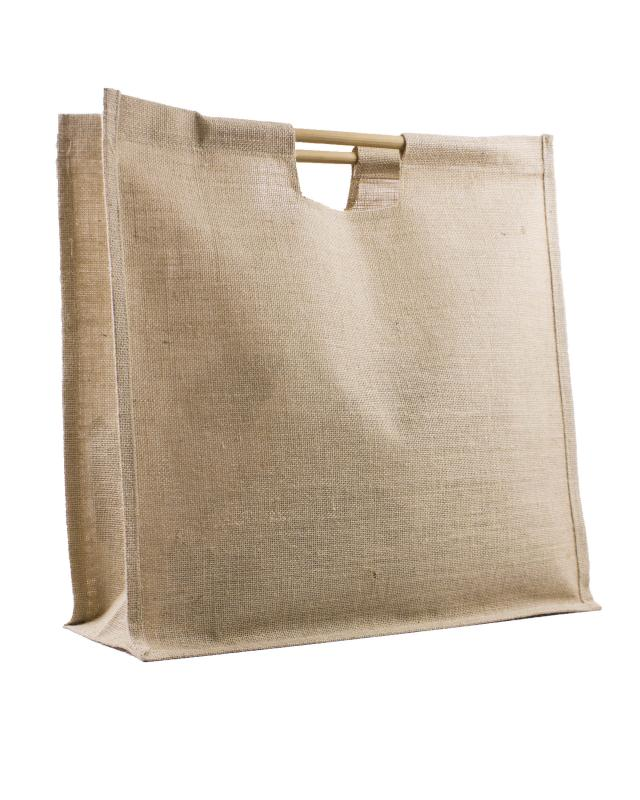 Large Jute Shopping Bag Natural - Tissushop