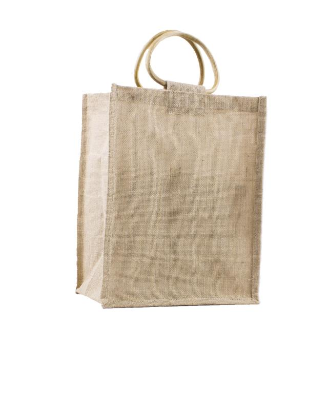 Jute Bag - Capacity 6 Bottles Natural - Tissushop