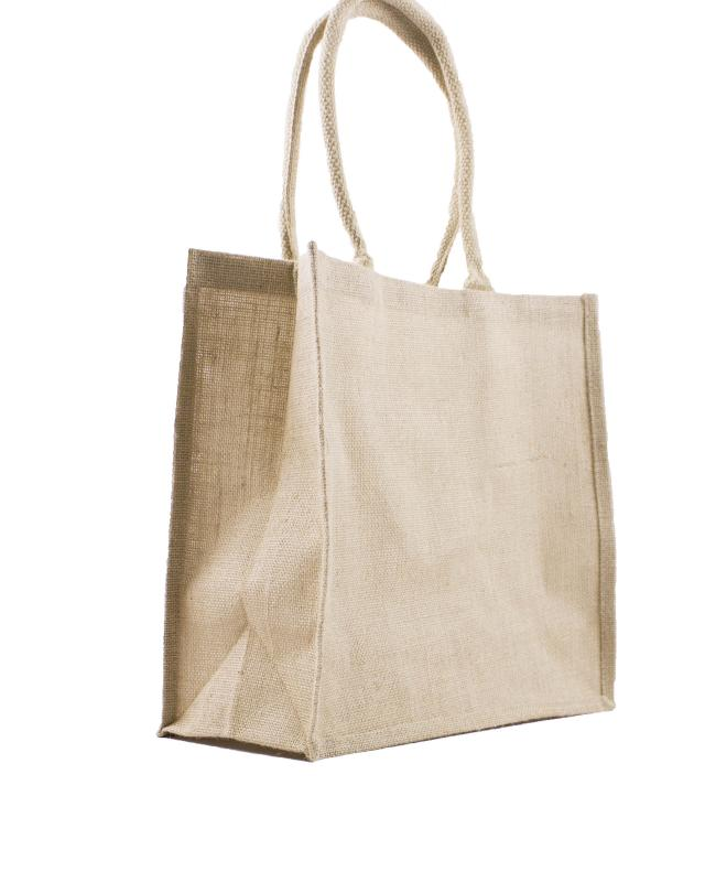 Small Jute Shopping Bag Natural - Tissushop