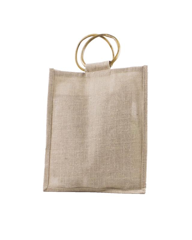 Jute Bag - Capacity 3 bottles Natural - Tissushop