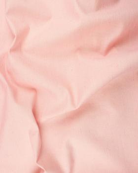 Coton / Lin Flammé Uni Rose - Tissushop