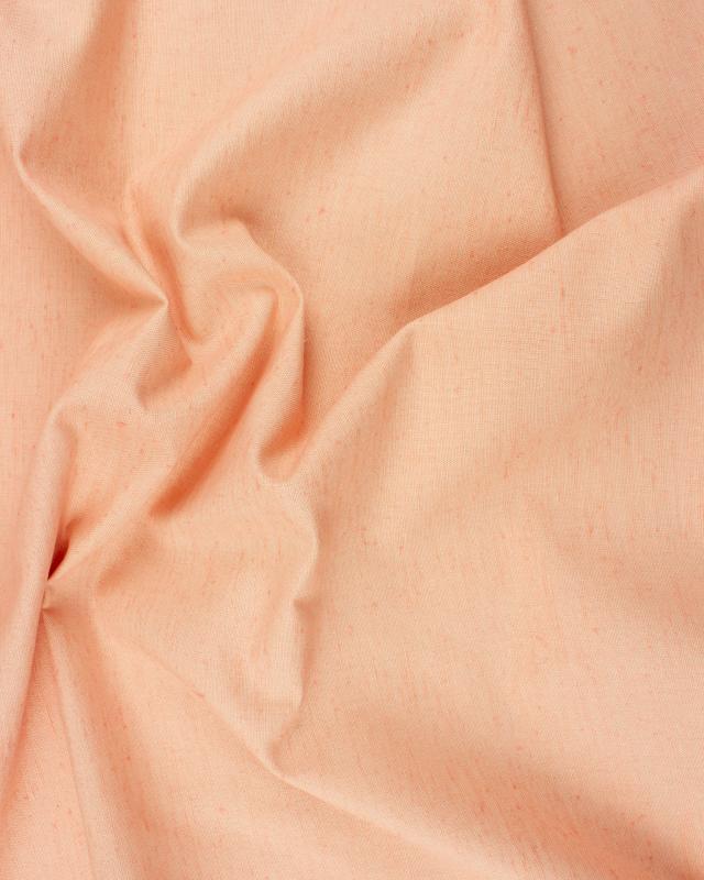 Plain Flamed Cotton / Linen Light Pink - Tissushop