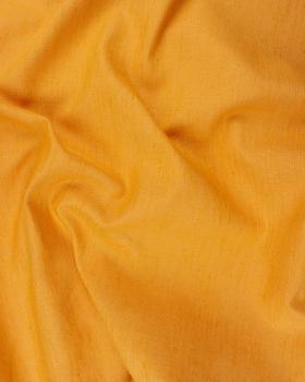 Coton / Lin Flammé Uni Abricot - Tissushop