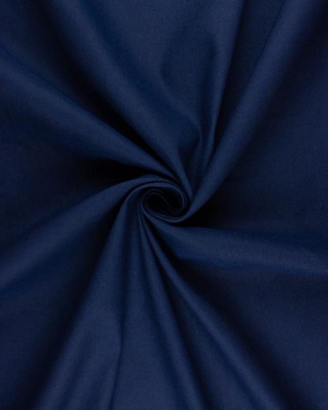 Dyed Cotton / Linen Navy Blue - Tissushop