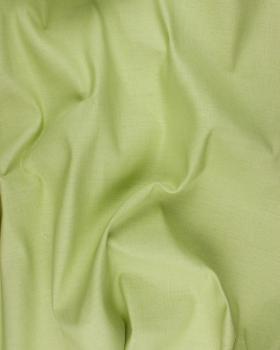 Coton / Lin Uni Vert Pistache - Tissushop