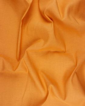 Coton / Lin Uni Abricot - Tissushop