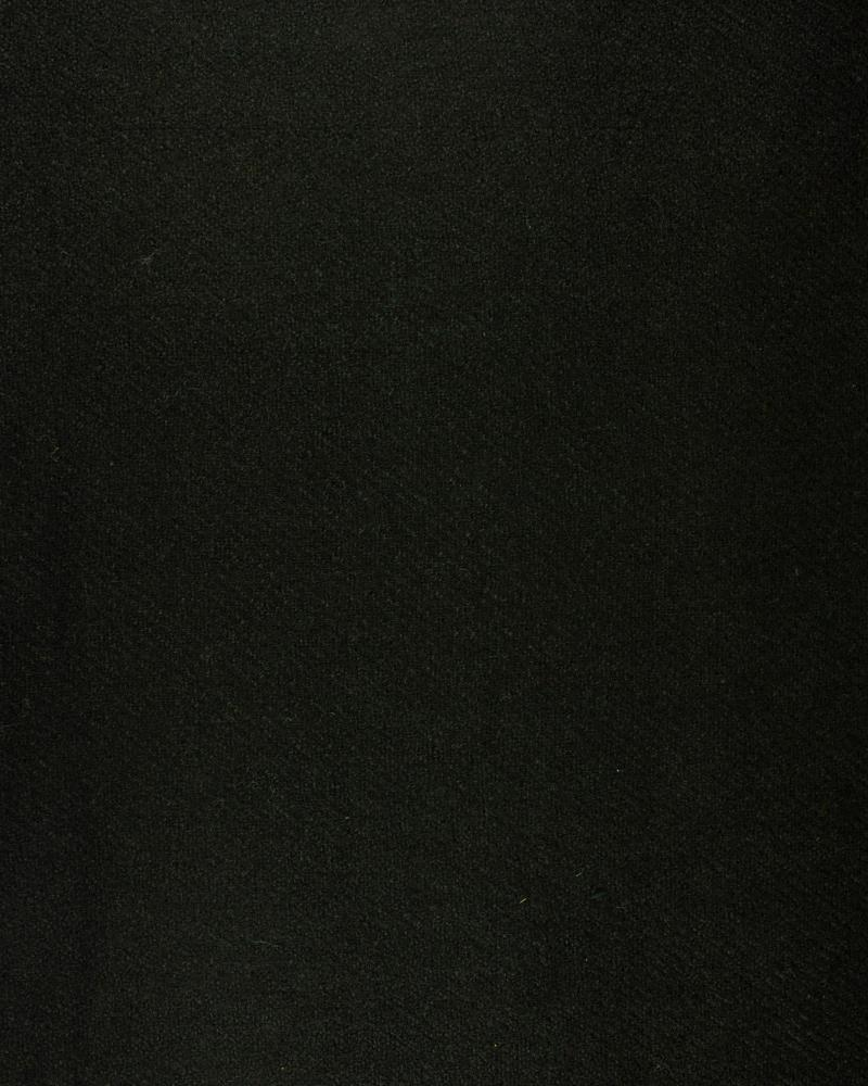 Boiled wool Black - Tissushop