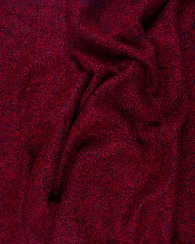 Boiled wool Red - Tissushop
