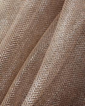 Lurex Metallic Mesh 1 Tone Beige - Tissushop