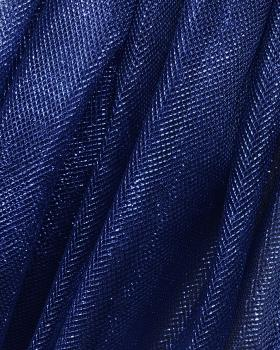 Lurex Metallic Mesh 1 Tone Royal Blue - Tissushop