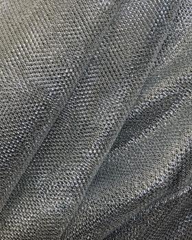 Tulle Lurex Metallic 1 Ton Argent - Tissushop