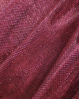 Lurex Metallic Mesh 1 Tone Strawberry - Tissushop