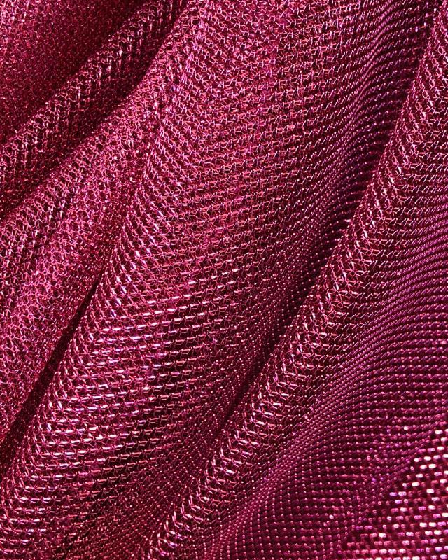 Lurex Metallic Mesh 1 Tone Pink - Tissushop