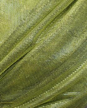 Lurex Metallic Mesh 1 Tone Light Yellow - Tissushop