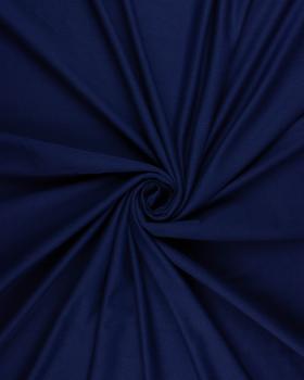 Jersey Coton Peigné Uni Bleu Marine - Tissushop