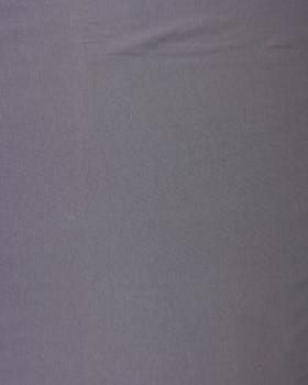 Plain Combed Cotton Jersey Grey - Tissushop
