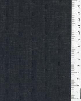 Plumetis cotton voile Black - Tissushop