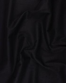 Plumetis cotton voile Black - Tissushop
