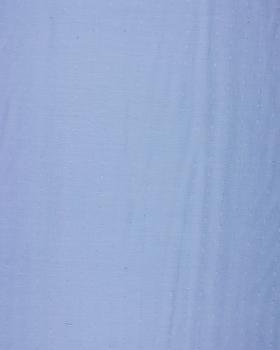 Plumetis cotton voile Light Blue - Tissushop