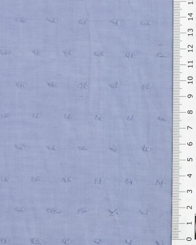 Plumetis cotton voile Light Blue - Tissushop
