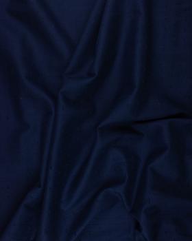 Voile de coton plumetis Bleu Marine - Tissushop