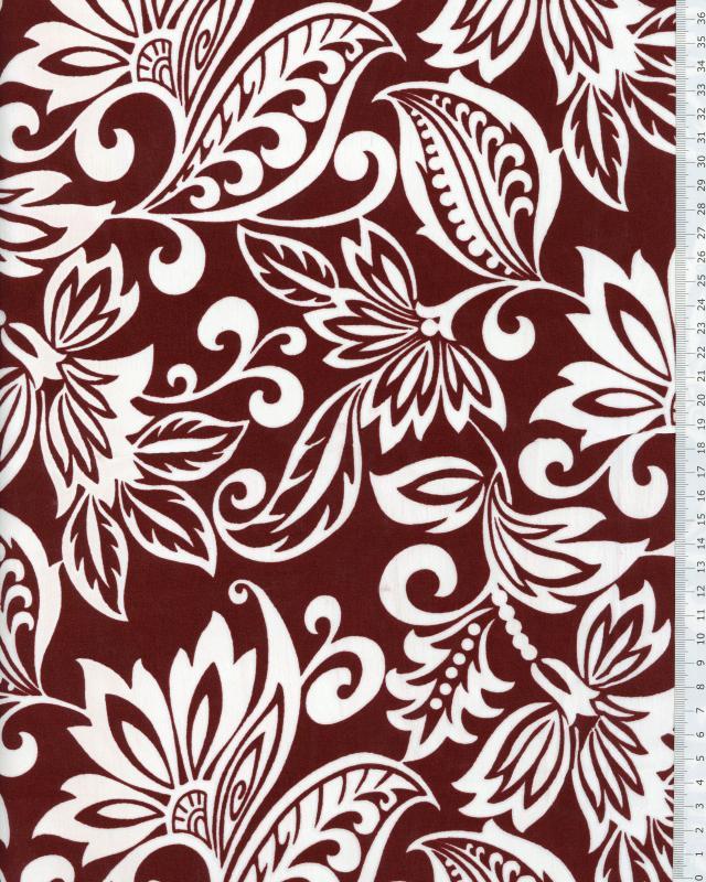 Polynesian Fabric TAVI Brown - Tissushop