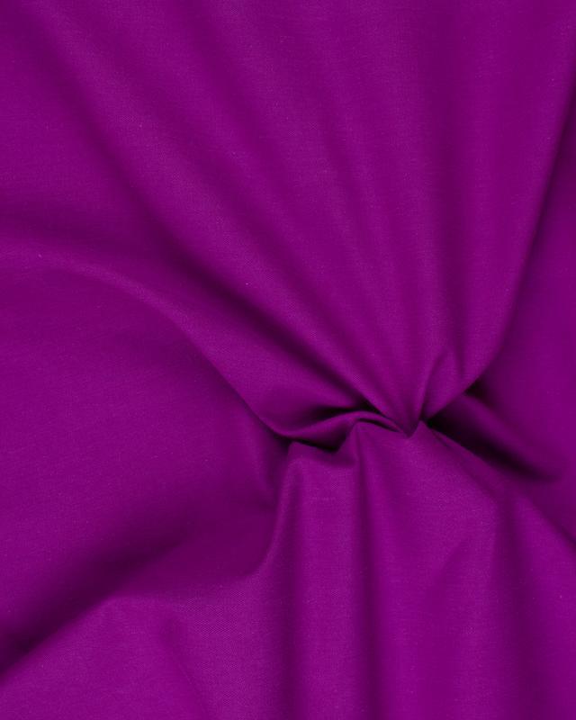 Plain Herringbone Dyed Cotton Fuchsia - Tissushop