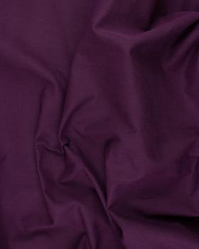 Plain Herringbone Dyed Cotton Plum - Tissushop