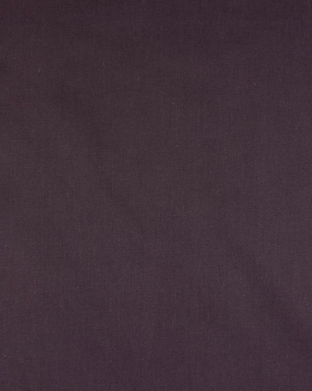 Plain Herringbone Dyed Cotton Purple - Tissushop