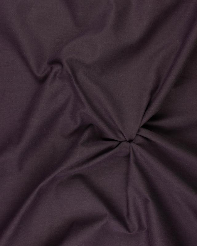 Plain Herringbone Dyed Cotton Purple - Tissushop