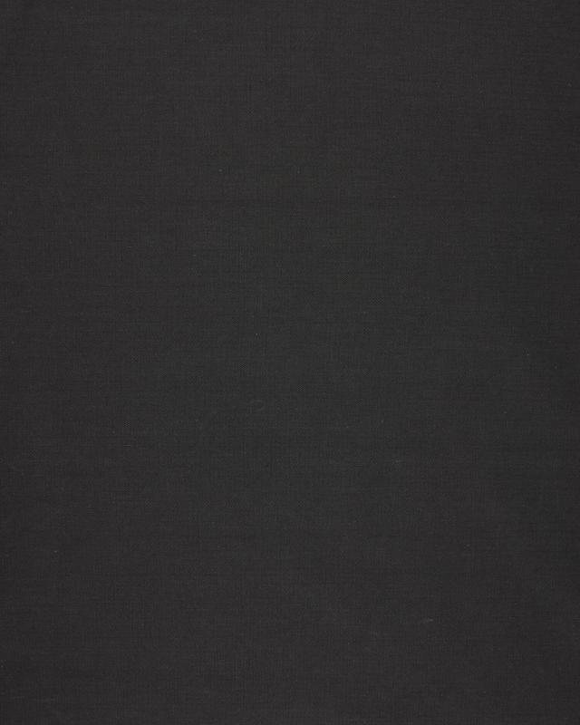 Plain Herringbone Dyed Cotton Dark Grey - Tissushop